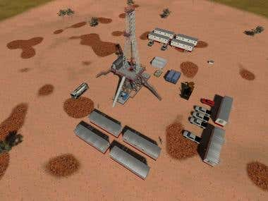 Referential Oil Drill