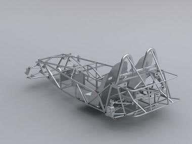 lotus seven chassis 2