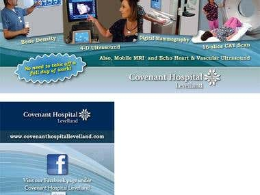 Postcard for Covenant Hospital Levelland