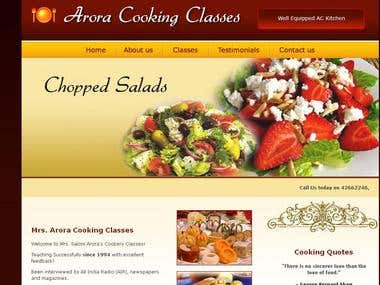 Arora Cookery Classes