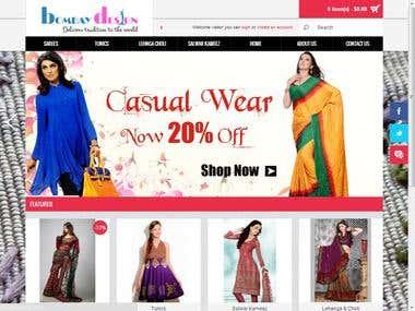 OpenCart BombayDesing eCommerce Site