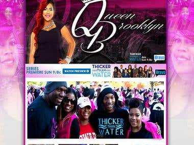 "Bravo Network's ""Thicker Than Water"" Tv Series"