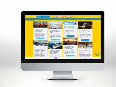 Travel website customization