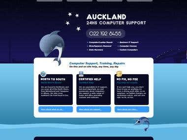 Web Design - Auckland Repair