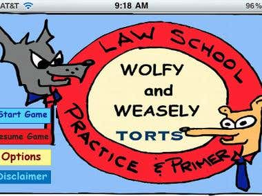Wolfy and Weasely: Law School Practice and Primer - Torts