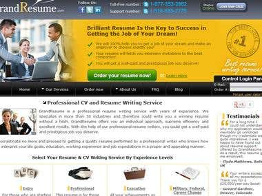 Resume writing services in USA