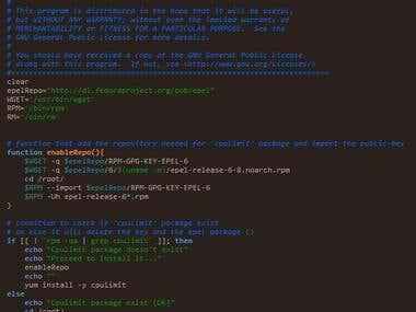 CPU limit - shell script