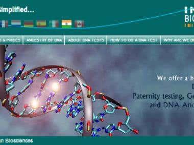 Inbdna(Medical Related Website)