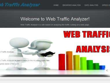 Web Traffic Analyzer in ASP.Net