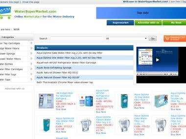 E-Commerce website - UK client.