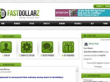 fastdollarz website