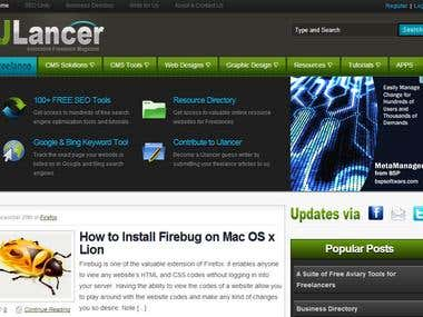 uLancer Freelancer Website & Tools