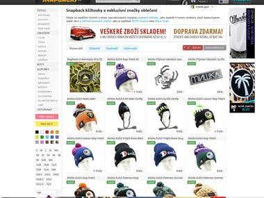 Snapbacks.cz - Online Store with fashion & apparel