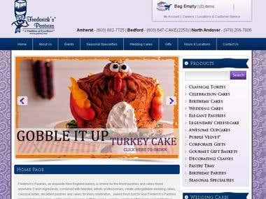 Frederick Pastries