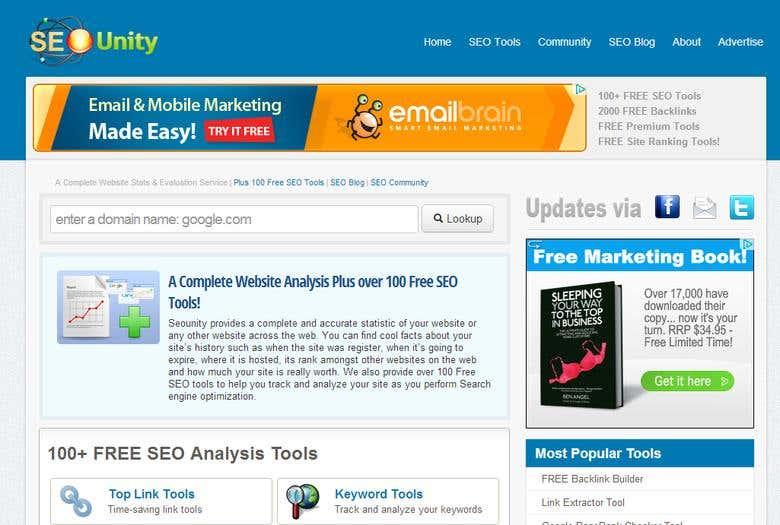 SEOUnity SEO Tools | Freelancer