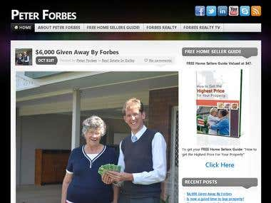 Peter Forbes,  Personal Blog