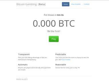Bitcoin Gambling Website