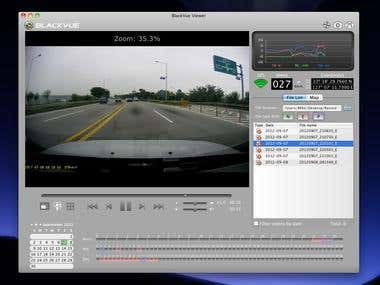 Dash cameras supporting software