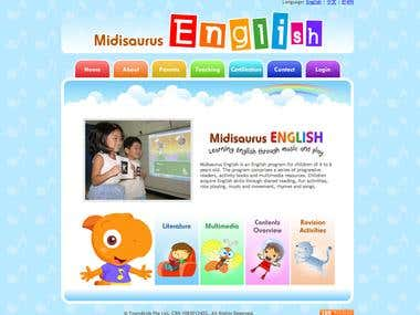 Midisaurus English