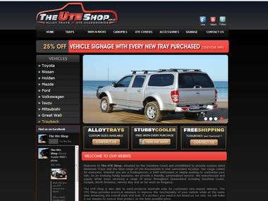 Alloy, Ute, Trays Website
