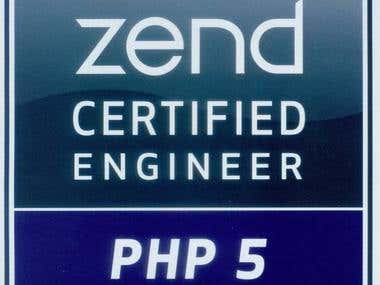 PHP Zend Certificate