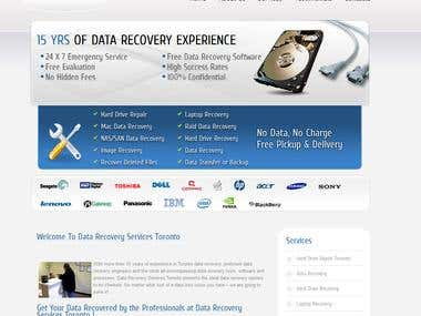 Data Recovery Services Toronto