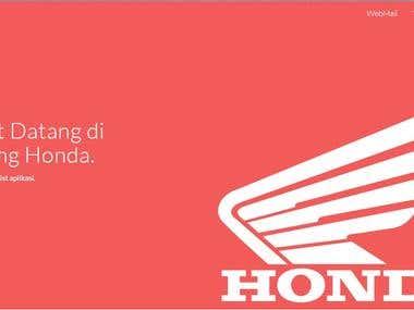 KampungHonda.com Landing Page
