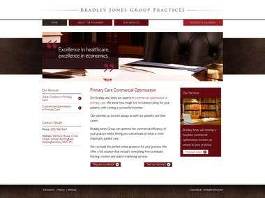 CMS based on Wordpress for Bradley Jones Group