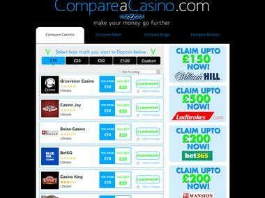 Compare Casinos & Make your Money