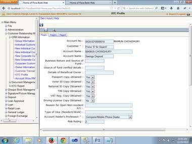 FloraBank Online Core Banking System
