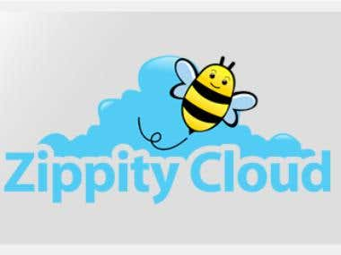 Zippity Cloud Logo Design
