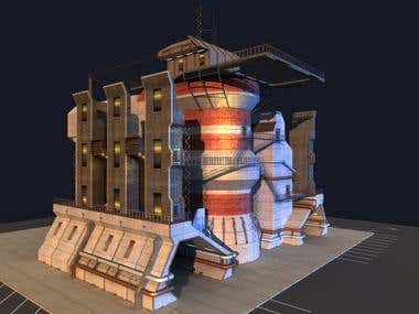 Sci-Fi Power Plant