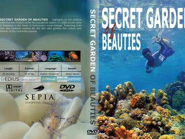 DVD cover for nature film
