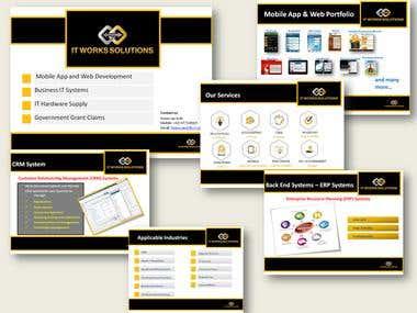 IT work solution presentation
