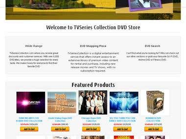 TvSeriesCollection DVD Store
