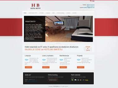 Sample web template
