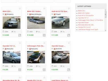 Cars Classified Site