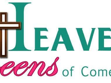Logo Design For a Female Christian Comic