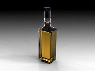 A Beverage Bottle Design