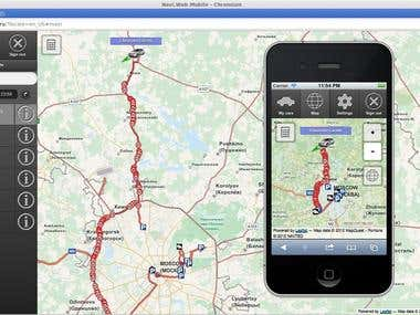 Navi.Web Tracking Mobile Service