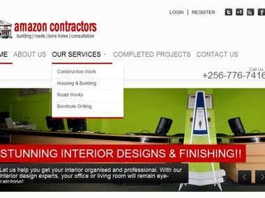 Amazon Contractors Website