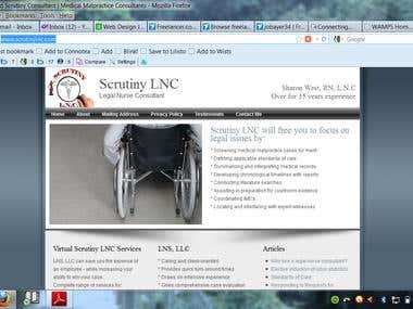 Website using PHP, MySQL