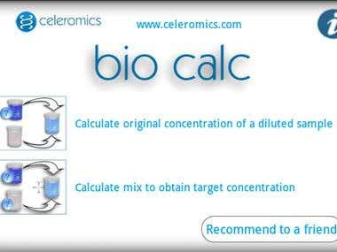 Bio Calculator