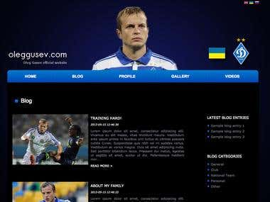 Official website for oleg gusev