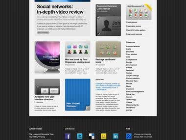 Design Website, Blog, Web 2.0