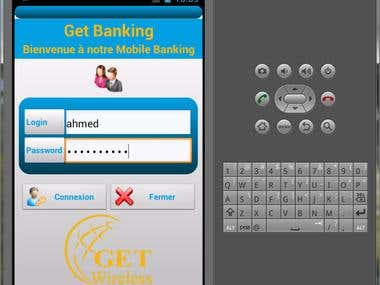 Android Mobile Banking application