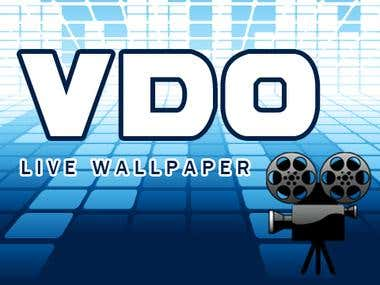 logo of  VDO Live WALLPAPER