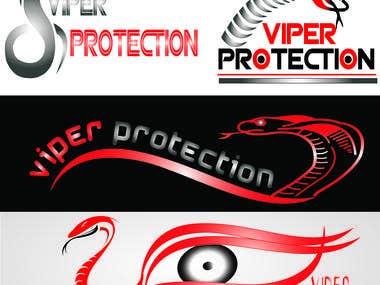 viper protection logos design
