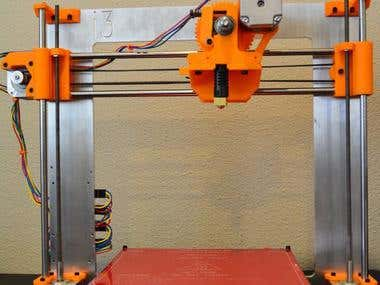Reengineering and modification of 3D printer