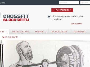 CrossFit Black Smith